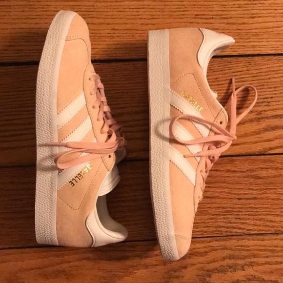 le adidas mai indossato scarpe rosa poshmark gazzella